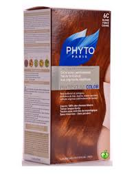 permanent hair color by phyto 6c dark coppery blond phytocolor 6c dark coppery blonde flaunt it