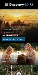 New Season Of Naked And Starts March 7