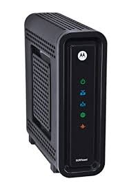 motorola cable modem. motorola sb6180 docsis 3.0 cable modem in non-retail packaging (brown box) o