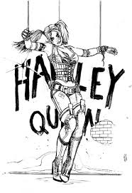If your child likes harley quinn, i think they will like this. Harley Quinn Coloring Pages Print For Free The Best Images