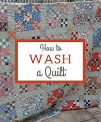 How To Wash a Quilt &  Adamdwight.com