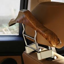 Coat Rack For Car 100x100cm Peachwood Stainless Steel ABS Seat Headrest Pillar Coat 54
