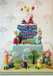 Peppa Pig Birthday Party Cake By Louise Jackson Cake Design