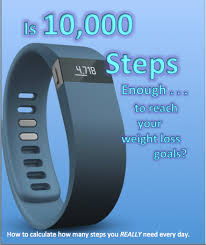 losing weight with fitbit is 10 000 steps enough