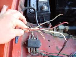 as promised wiring questions mg midget forum mg experience here is the second picture of the fuse box holding the wires on the passenger side im pretty sure these get routed back in through the firewall yes