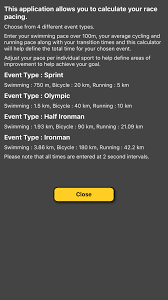 Triathlon Pace Calculator App For Iphone Free Download
