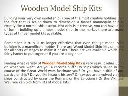 wooden model ship kits building