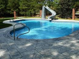 image of above ground swimming pool slides clearance