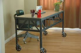 office table with wheels. stylish office desk on wheels furniture reception table with s