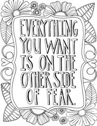 Activity sheets for adults 12 inspiring quote. 38 Inspirational Coloring Pages Favecrafts Com