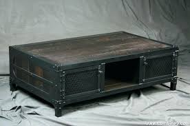 metal and wood coffee table reclaimed wood coffee table with cabinet storage round metal coffee table with wood top