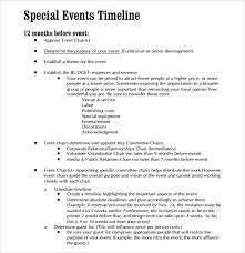 events timeline template sample event timeline 8 documents in pdf word