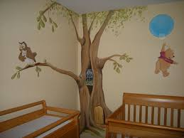 wall murals for nursery ideas wall murals for baby girl nursery image inspirations ideas winnie