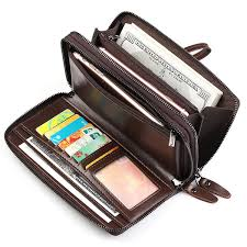 genuine leather clutch bag 7 card slots business vintage card bag wallet for men ping newchic
