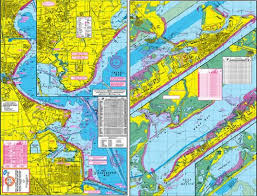 Boat Charts Online Hook N Line Map Galveston Water Proof Wade Fishing Chart