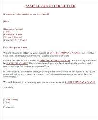 Employee Certificate Format Doc Employment Offer Letter
