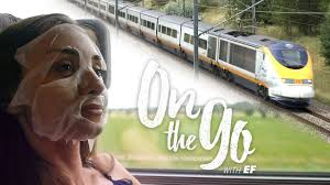 On The Go With Ef 24 Maria Takes The Eurostar To London Youtube