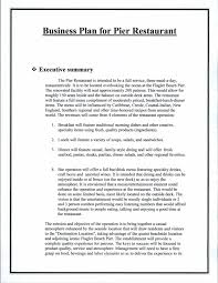 Restaurant Business Plan Restaurant Business Plan Template World Of Label 9