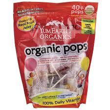 YumEarth <b>Organic Pops</b> - <b>Assorted</b> Flavors 8.5 oz Pkg | <b>Organic fruit</b> ...