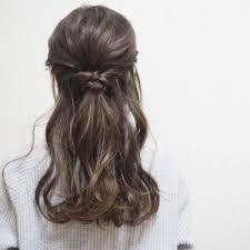アラサー女子のハーフアップはゆるめが色っぽ可愛い2019最新のヘア
