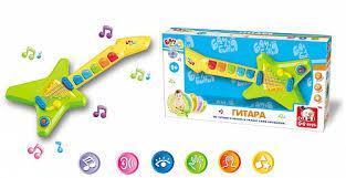 <b>Музыкальная игрушка</b> Гитара БамБиНи (<b>S</b>+<b>S Toys</b>), арт.EG80081R