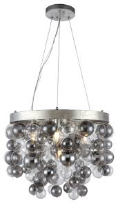 1531 isabel collection chandelier 20 x16 4 light antique silver leaf finish