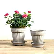 4 inch plant pots home pots 4 inch plant ceramic rustic white french postcard tabletop 4