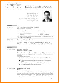 6 Cv South Africa Template Hostess Resume