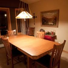 arts crafts style dining table