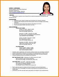 Resume Writing Format Pdf Lcysne Com
