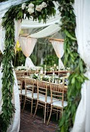 amazing garden wedding repection ideas