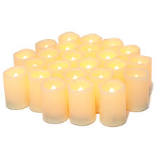 Fake Tea Lights Ebay Details About Flameless Flickering Votive Tea Lights Candles Bulk Battery Operated Set Of 24