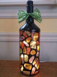 Decorative Wine Bottles With Lights 100 DIY Bottle Lamps Decor Ideas That Will Add Uniqueness to Your Home 71