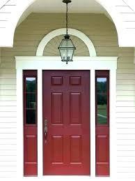 best paint for fiberglass door exterior door paint colors brick house front door paint color exterior
