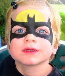 batman easy face painting for kids bing images