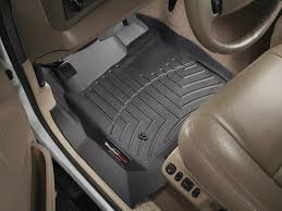 black weathertech floor mats. 2004 Ford Excursion Floor Mats Laser Measured For Perfect Fit WeatherTech Black Weathertech