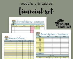 Financial Planner Pdf Printable Bill Tracker Bill Planner Bill Organizer Family Budget Financial Organizer Home Binder Budget Log