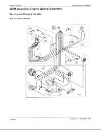 Mercruiser wiring diagram with electrical