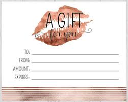 Free Gift Certificate Template Download Free Gift Certificate Template Download Complete Guide Example 1