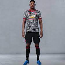 The red devils unveiled a visually distinctive design inspired by striped jerseys from the club's history with the premier league giants delivering a vibrant new print. Manchester United 2020 21 Third Kit Leaked