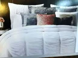 miller pink comforter set bedding ruffle king full grey and white queen sets mill nicole twin miller comforter