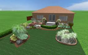 Landscape Garden Design Simple Decorating