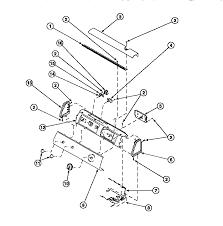 amana model le8407l2 ple8407l2 residential dryer genuine parts