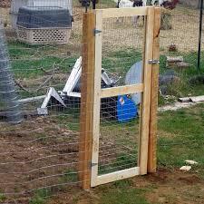 diy garden fence building a gate