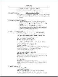 Objective Of Resume Sample Resume Bank