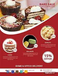 Bake Sale Flyer Templates Free 13 Free Sales Flyer Templates Word Psd Indesign