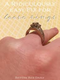 easy fix to make your rings resized smaller life the barivangelist