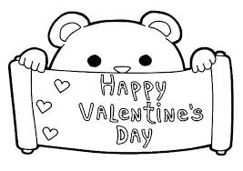 coloring pages of valentines day. Modren Coloring Valentine Day Printable Coloring Pages Valentines Free  For  With Coloring Pages Of Valentines Day