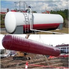 Underground Oil Tank Chart Storage Tanks For Diesel Fuel Above Ground Vs Underground