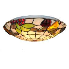 modern art crafts nordic stained glass lamp shade re vanity flush mount ceiling light fixtures chandelier